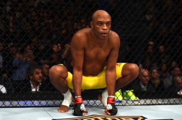 Anderson Silva (right) (Photo by Jeff Bottari/Zuffa LLC/Zuffa LLC via Getty Images)