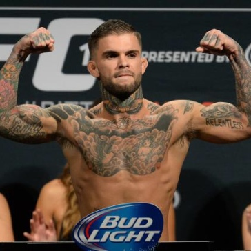 Cody Garbrandt (left)